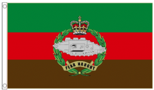 British Army Royal Tank Regiment 5'x3' (150cm x 90cm) Flag